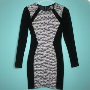 Divided H&M Bodycon Dress Sz 4